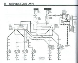 Fox turn signal wiring diagram  Ford Mustang Forum