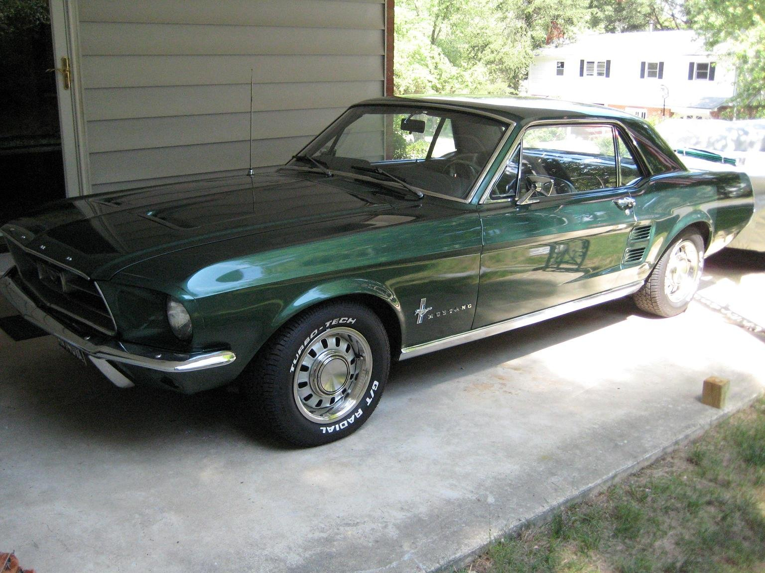 Curious About A Ballpark Value 1967 Mustang Coupe Ford