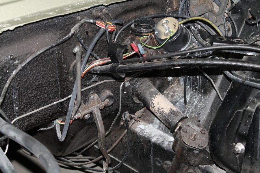 1965 mustang steering column diagram pioneer deh p4900ib wiring 66 fastback speedometer cable - ford forum
