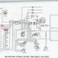 66 Mustang Ignition Wiring Diagram 1969 Dodge Charger Dash 1966 Color All Data Ford V8 Pdf 1965