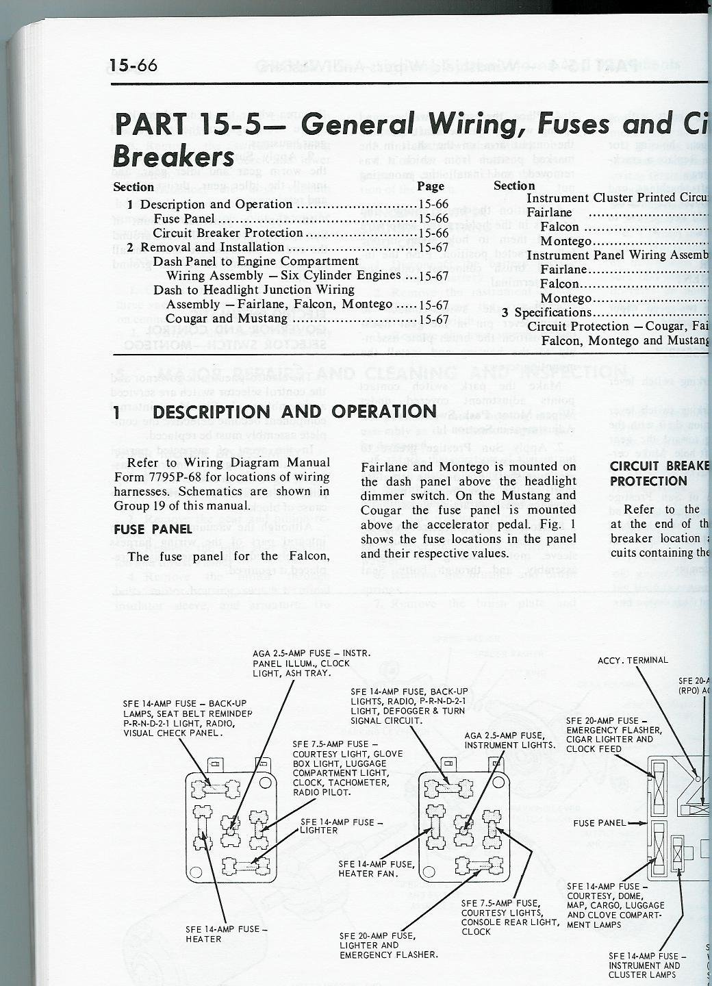 hight resolution of 68 mustang fuse box wiring diagram week 1968 mustang fuse diagram