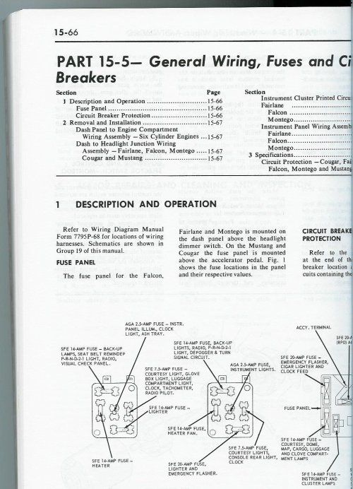 small resolution of 68 mustang fuse box wiring diagram week 1968 mustang fuse diagram