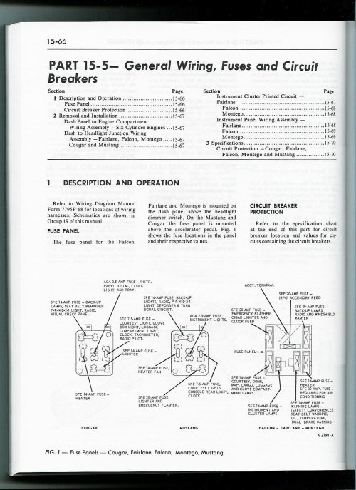 small resolution of 1968 mustang fuse box wiring diagram schematic wiring diagram review 68 mustang fuse box diagram