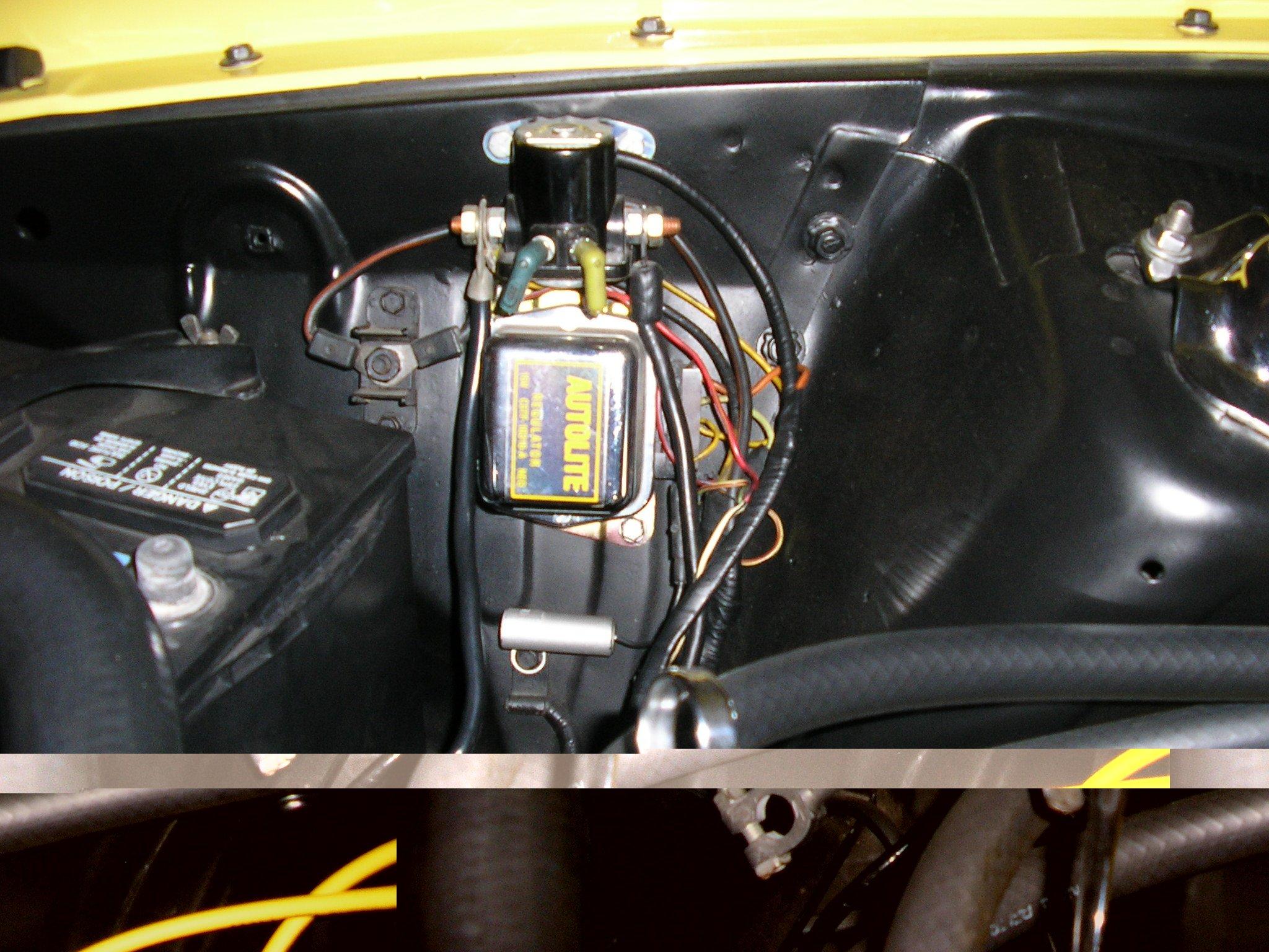 Starter Wiring Diagram 1973 Mustang Starter Solenoid Wiring Mustang