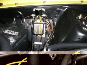 1973 Mustang mach 1 starter solenoid wiring  Ford Mustang