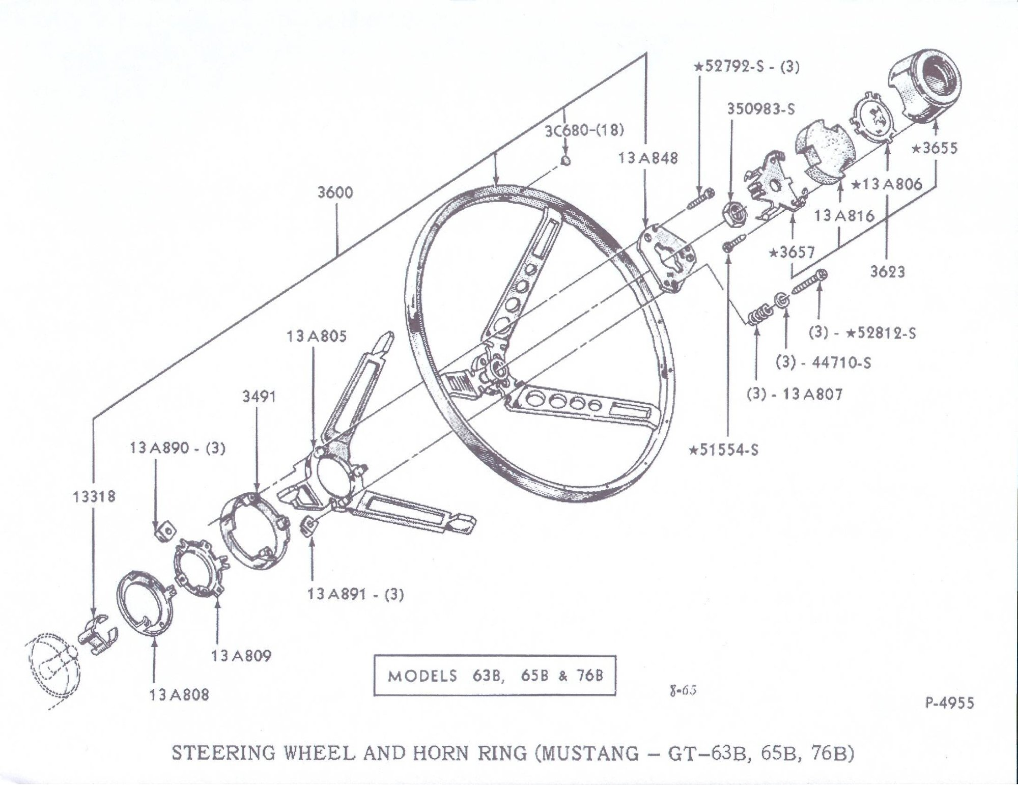 hight resolution of 1965 ford mustang horn diagram schematics wiring diagrams u2022 rh seniorlivinguniversity co 1965 mustang steering column