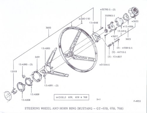 small resolution of 1965 ford mustang horn diagram schematics wiring diagrams u2022 rh seniorlivinguniversity co 1965 mustang steering column