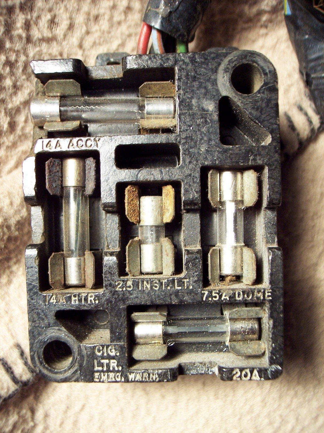 1965 ford mustang headlight wiring diagram temp control fuse panel / box diagram? - forum