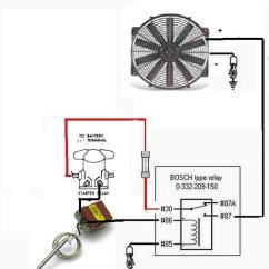 Spal Electric Fan Wiring Diagram 1999 Ford F150 Ignition Fans With Relay - Mustang Forum