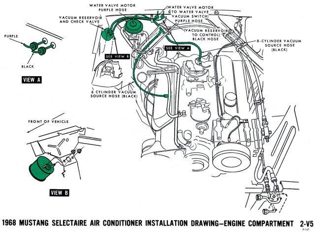 Vacuum Diagram For 1965 Ford Thunderbird