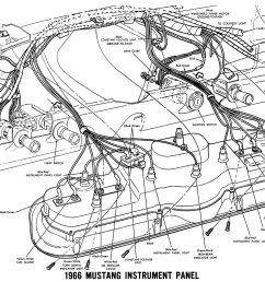 1973 mustang cluster wiring diagram