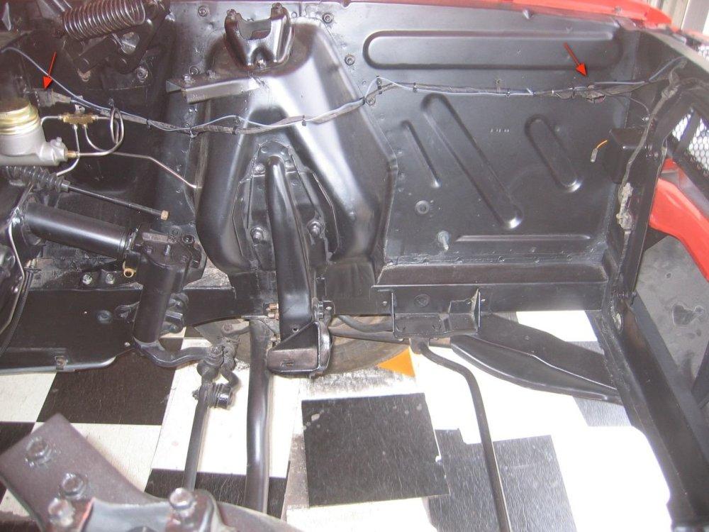 medium resolution of 66 mustang headlight wiring harness