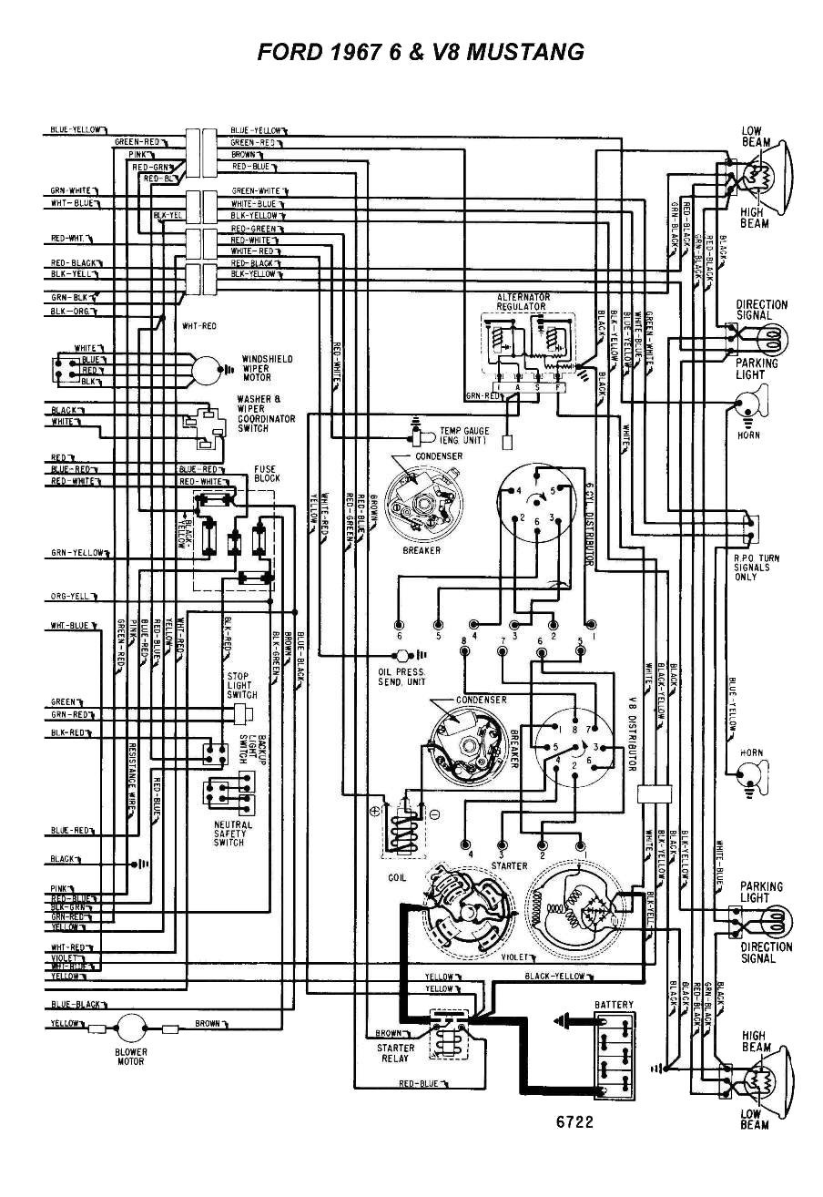 medium resolution of wiring a 1967 mustang coupe ford mustang forum rh allfordmustangs com 67 mustang alternator wiring diagram