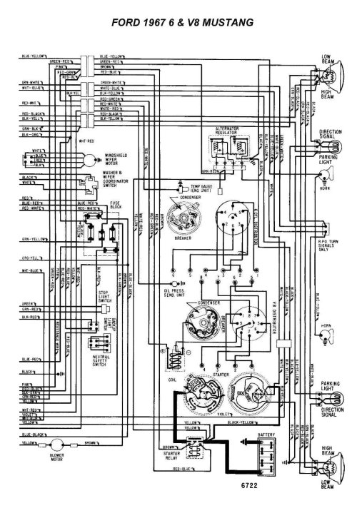 small resolution of wiring a 1967 mustang coupe ford mustang forum rh allfordmustangs com 67 mustang alternator wiring diagram