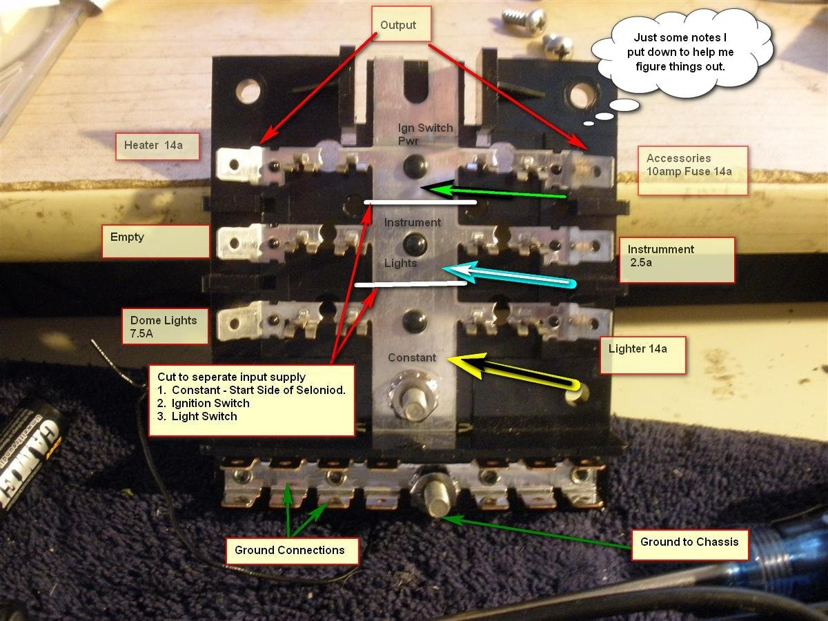 hight resolution of replace 66 mustang fuse box wiring library 1965 coupe at 289 replace fuse panel w blade