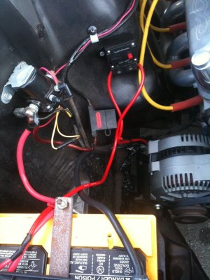 single wire alternator install on a 1966 mustang problems?  Ford Mustang Forum
