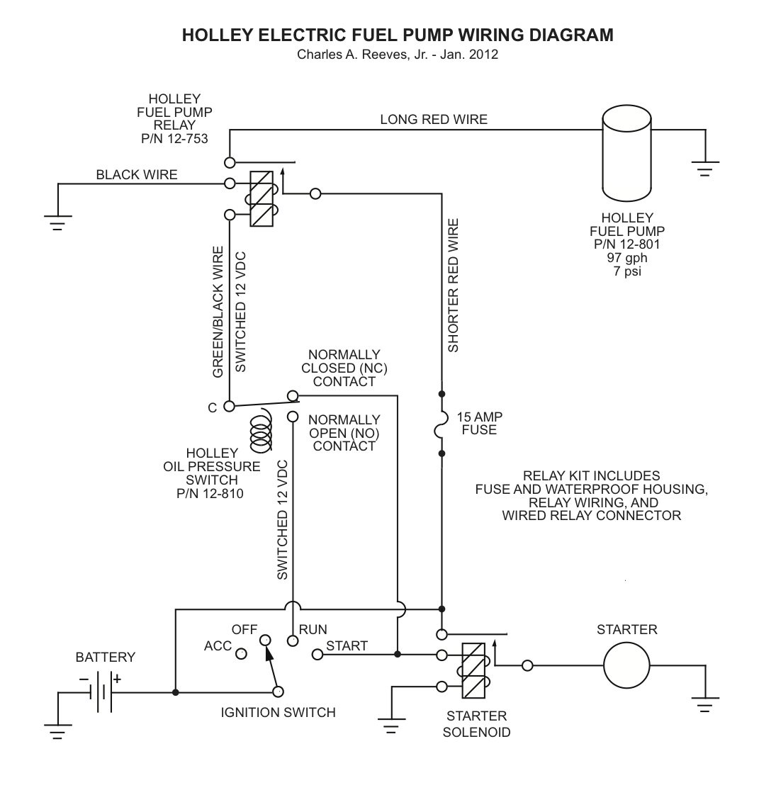 holley electric choke wiring diagram for motorcycle alarm installing a fuel pump in 1966 mustang
