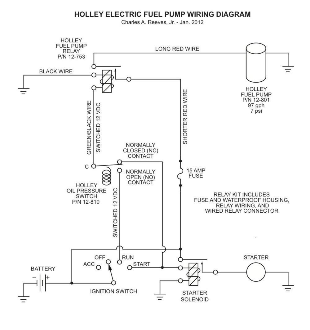 medium resolution of holley red fuel pump wiring diagram wiring diagram portal 93 honda civic hatchback fuel pump relay wiring diagram electric fuel pump relay wiring diagram