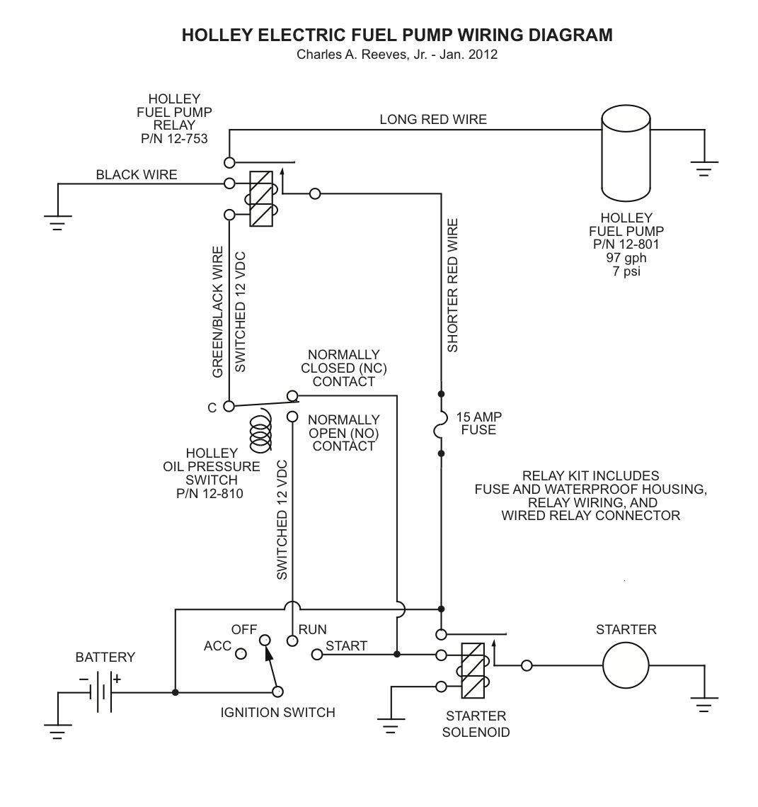 hight resolution of holley red fuel pump wiring diagram wiring diagram portal 93 honda civic hatchback fuel pump relay wiring diagram electric fuel pump relay wiring diagram