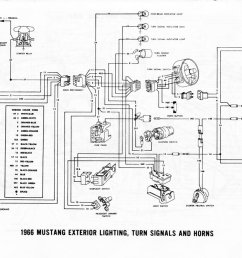 1965 mustang turn signal flasher wiring diagram 1965 [ 1100 x 749 Pixel ]