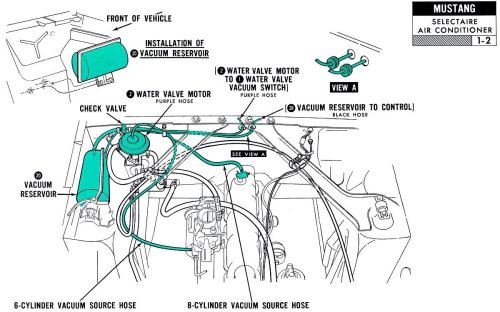 small resolution of 1967 mustang vacuum diagram wiring diagram img 1967 mustang vacuum diagram