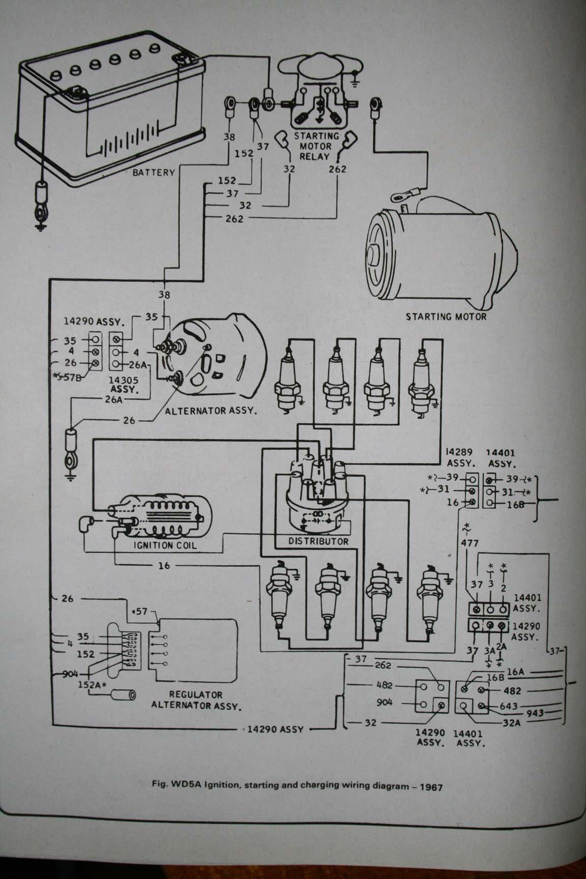 Alternator Voltage Regulator Wiring Diagram Also 3 Wire Alternator