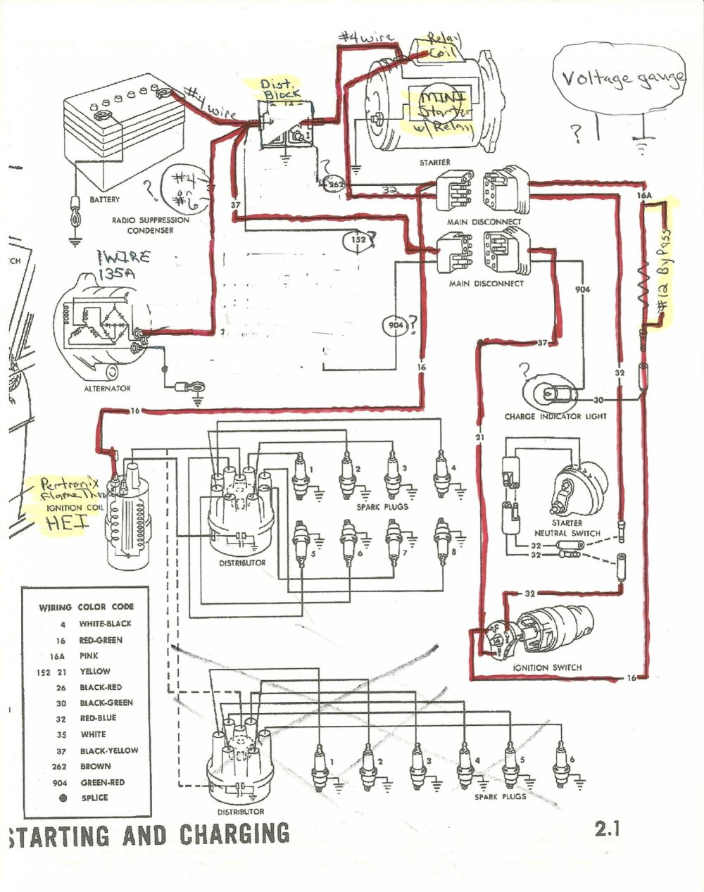 medium resolution of dodge voltage regulator wiring diagram wiring library 1965 alternator starter and distributor wiring ford mustang