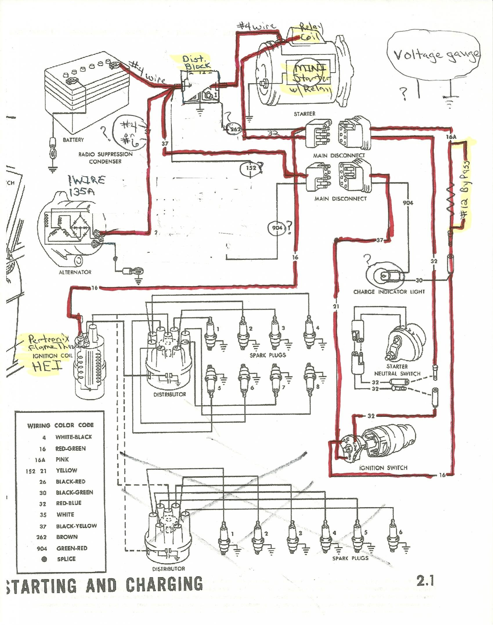hight resolution of ford mustang alternator wiring wiring diagram info 1992 ford mustang alternator diagram