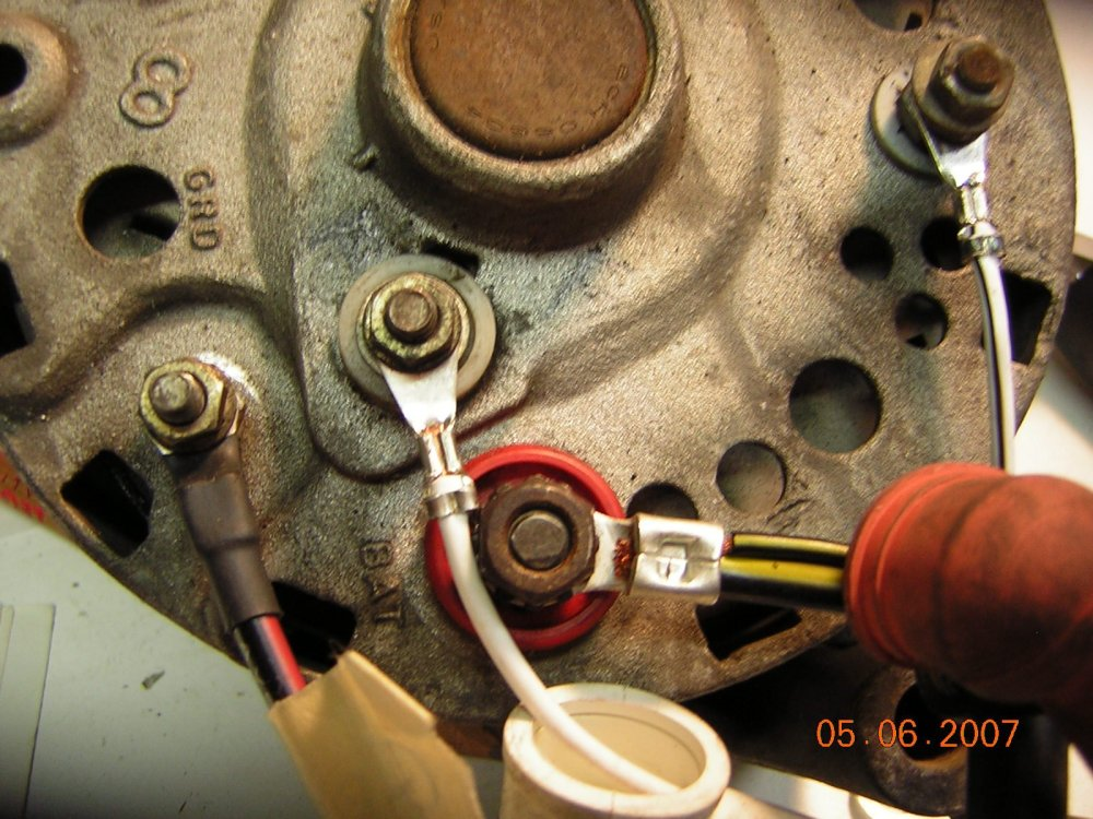 medium resolution of click image for larger version name alternator 003 jpg views 1964 to 1965 mustang wiring harness