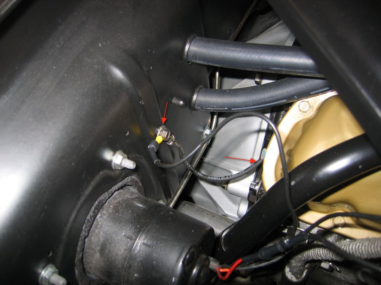Wire Diagram For 1967 Ford Cobra Proper Way To Ground Engine And Chassis Ford Mustang Forum
