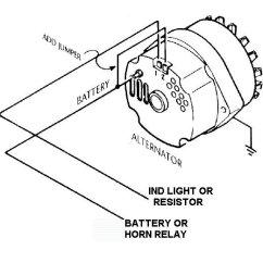 Gm Alternator Wiring Diagram External Regulator 1992 Honda Prelude Speaker Internally Regulated W/ Regulator? - Ford Mustang Forum