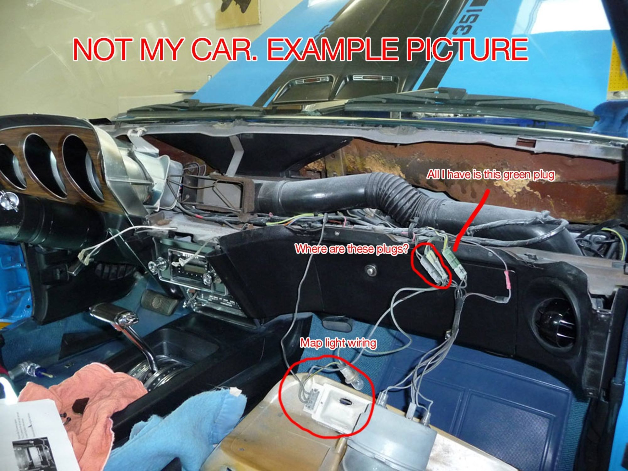 hight resolution of 1970 mach 1 dash wiring need help ford mustang forum rh allfordmustangs com 1969 mustang wiring