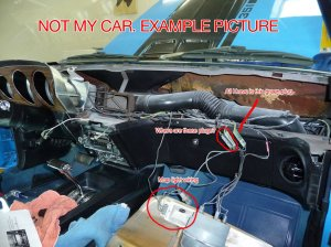 1970 mach 1 dash wiring NEED HELP!  Ford Mustang Forum
