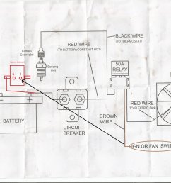 mustang electric fan wiring diagram wiring diagram imgwiring diagrams with thermostat for electric fan wiring library [ 2338 x 1700 Pixel ]