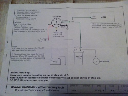 small resolution of aftermarket tach wiring diagram for 1966 ford mustang circuit 1960 dodge power wagon wiring diagram for