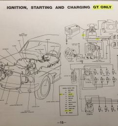65 gt ammeter pegged and mystery white black wire ford mustang forum fprd induction amp meter wiring diagram [ 2016 x 1512 Pixel ]