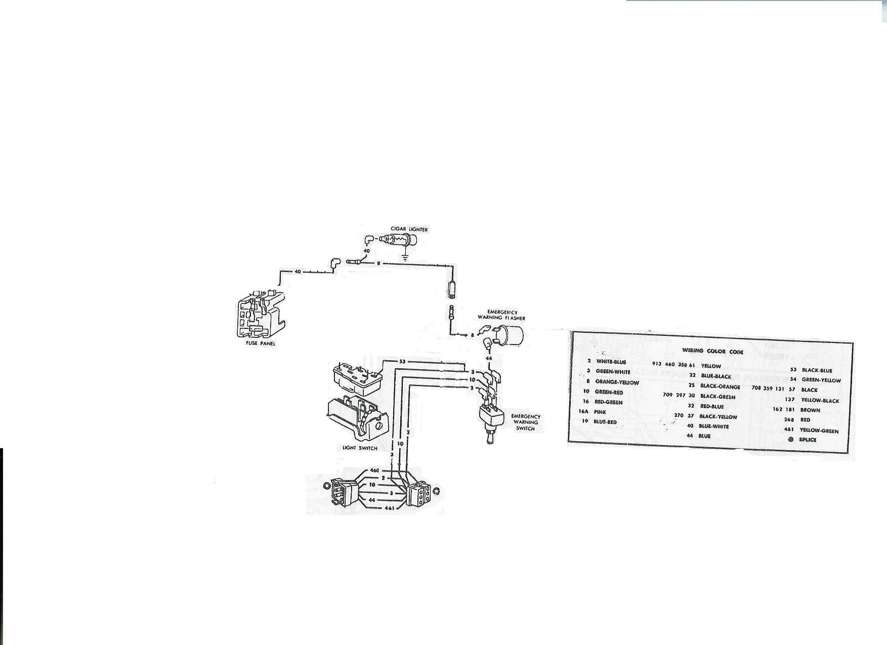 car starter wiring diagram electrolux double door refrigerator another rally pac question, tach - page 2 ford mustang forum
