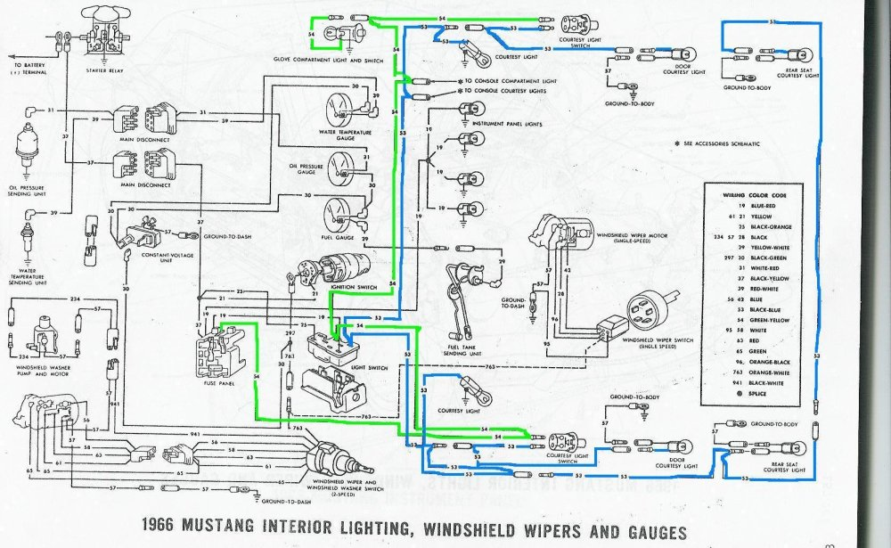 medium resolution of courtesy lights not working ford mustang forum 1965 ford mustang wiring diagram 1966 mustang courtesy light wiring diagram