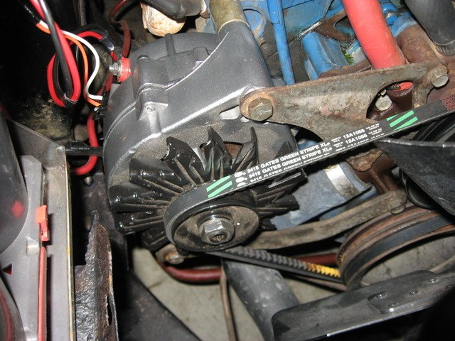 1984 Ford Bronco Wiring Diagram New Alternator In A 1968 Mustang Ford Mustang Forum