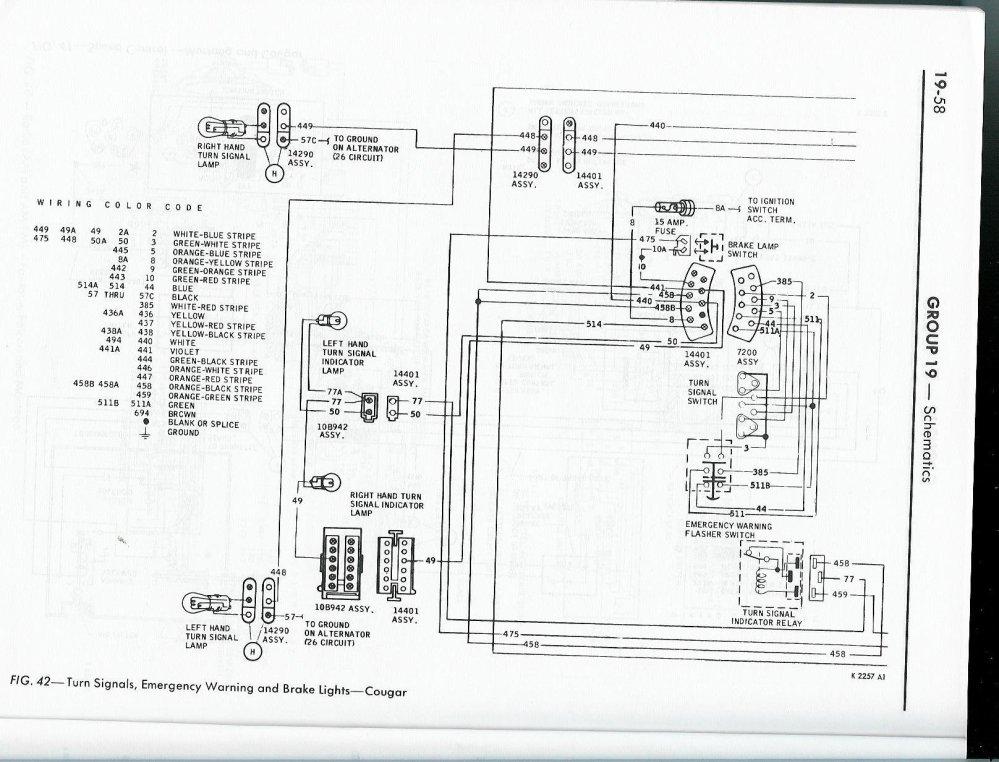 medium resolution of click image for larger version name 68 cougar turn signals 1 jpg views