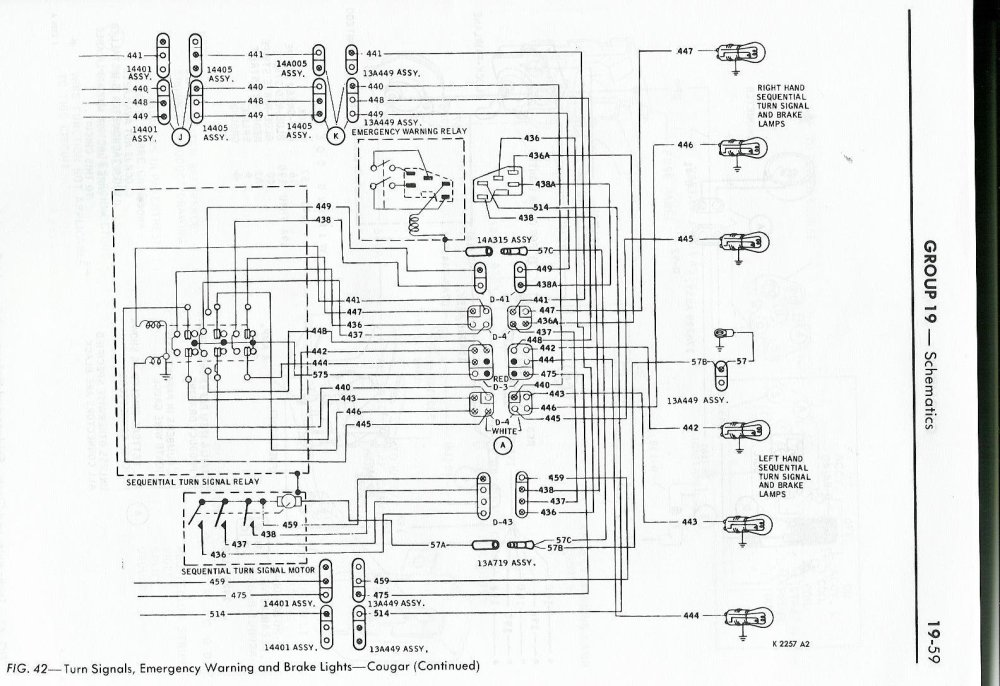 medium resolution of 1968 cougar wiring diagram