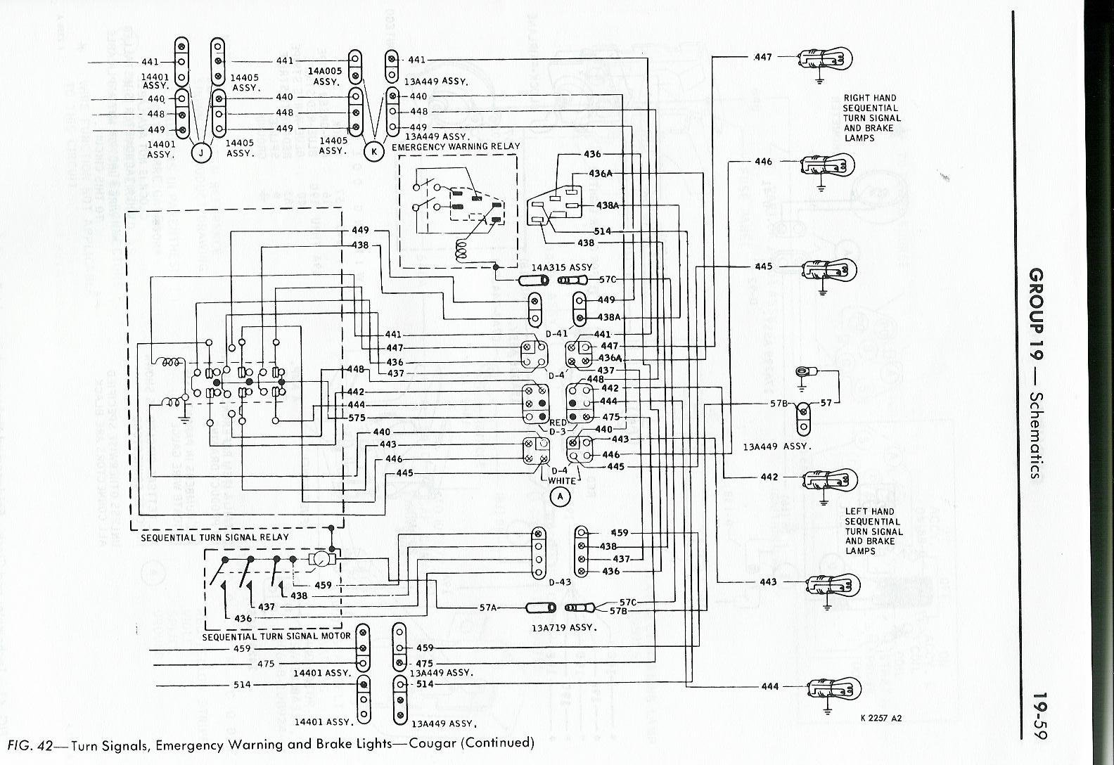 hight resolution of 1968 cougar wiring diagram