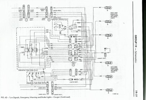 small resolution of 1968 cougar wiring diagram