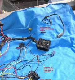 66 mustang under dash wiring harness repair machine 66 mustang convertible wiring harness [ 1944 x 2592 Pixel ]