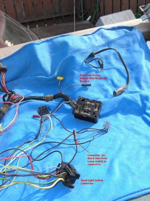Fog light wiring on a 1968 Mustang  Ford Mustang Forum