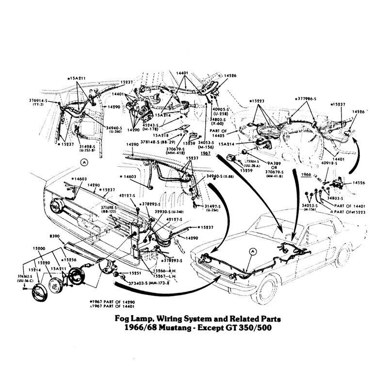 68 Mustang Wiring Harness 67 Mustang Wiring Harness Painless