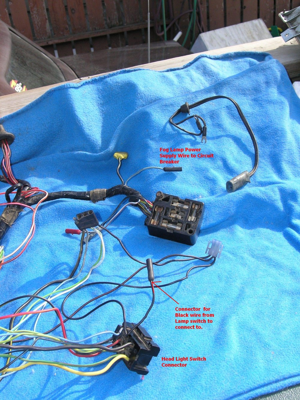 medium resolution of click image for larger version name fog light wiring one 1966 mustang foglamp underdash harness ford