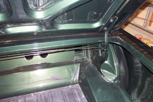 Trunk Torsion Bar Installation - Year of Clean Water