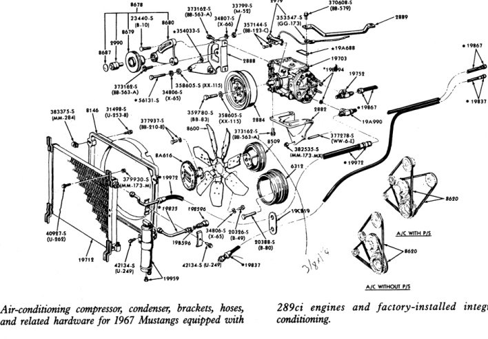 Ford Mustang 289 Engine Diagram, Ford, Free Engine Image