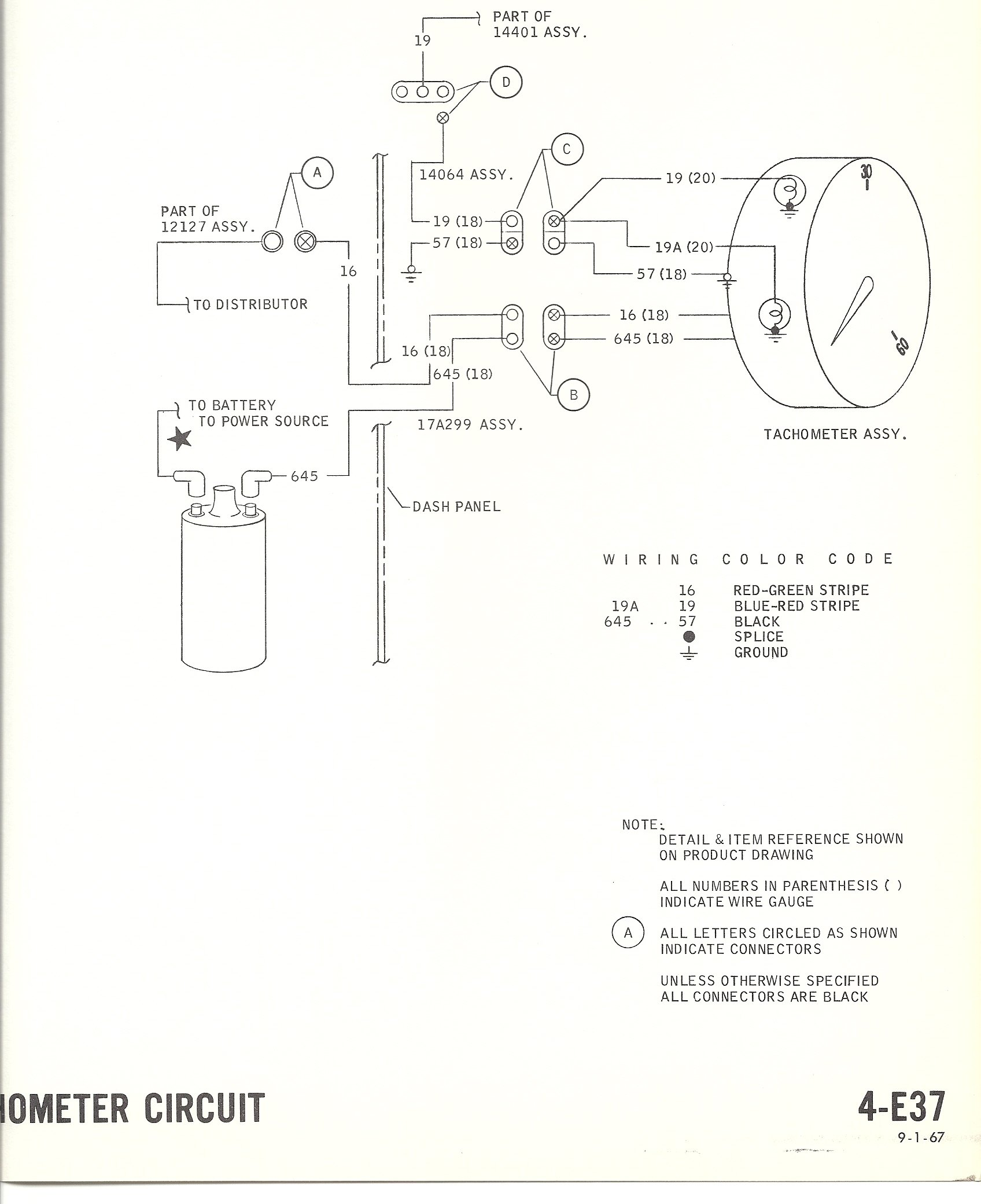 hight resolution of electric tachometer wiring wiring diagram sheetwrg 2228 electric tachometer wiring diagram 1968 mustang wiring diagrams